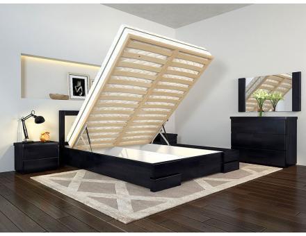 """Ліжко Регіна Люкс 160 з підйомним механізмом """"Arbor Drev"""""""