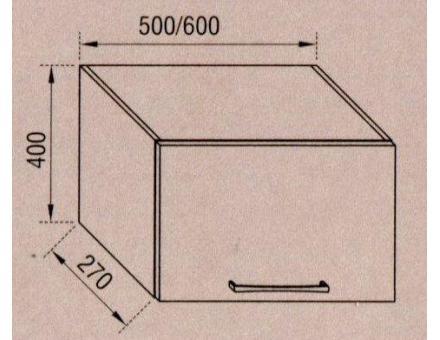 Окап 50 Адель (В: 400 мм Ш: 500 мм Г: 290 мм)