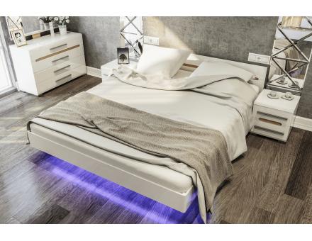 """Ліжко 1.6 Б'янко """"Світ Меблів"""""""