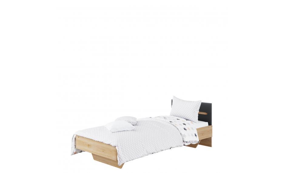 """Ліжко 90 Б'янко (Графит) """"Світ Меблів"""""""