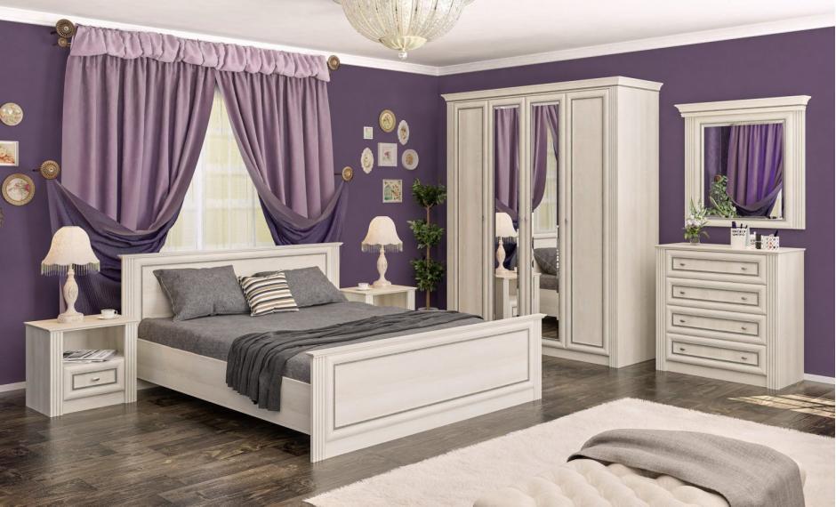 """Спальня Брістоль New """"Mebel Service"""""""
